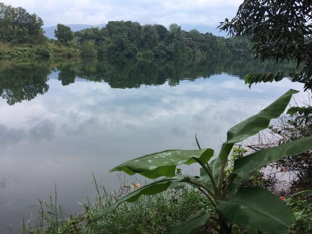 Озеро возле ашрама