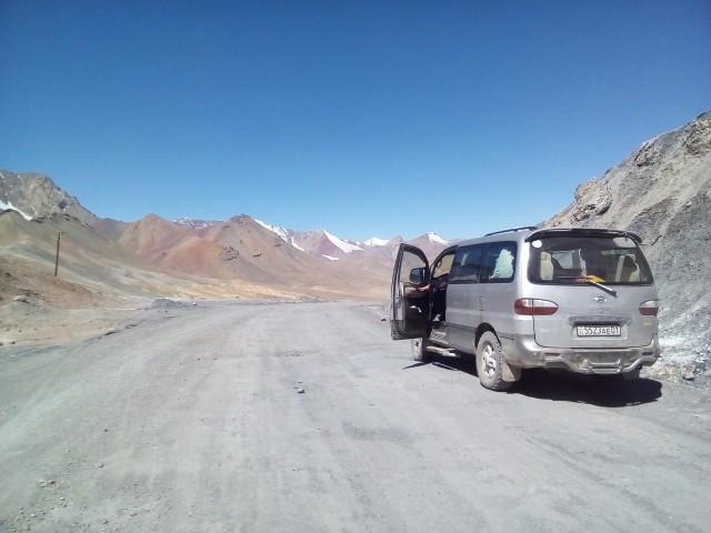 Акбайтал - автомобильный перевал. 4 655 м