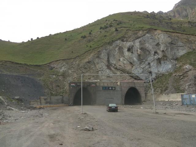 Выехали с Анзобский тоннеля
