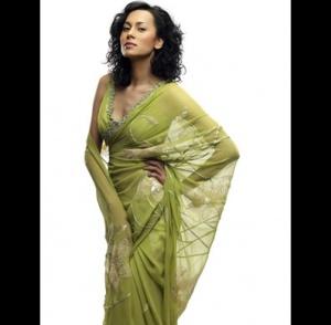сари от индийского дизайнера Рави Бажаджа
