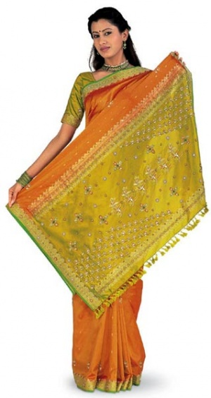Сари из Индии