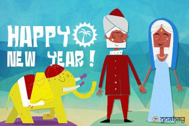 GoaBay Индия Новый Год