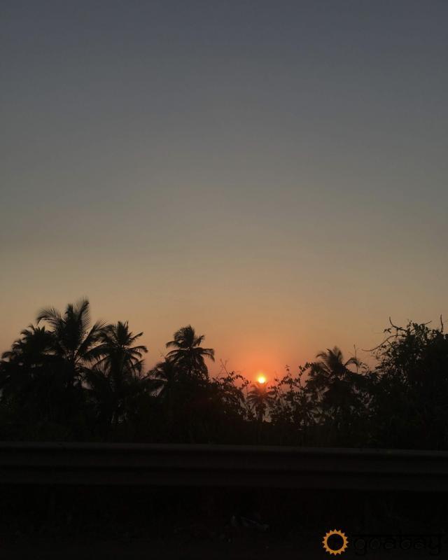 GoaBay Индия Закат