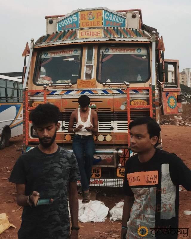 GoaBay Индия Люди
