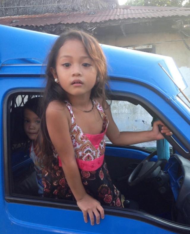 Маленькая филиппинка