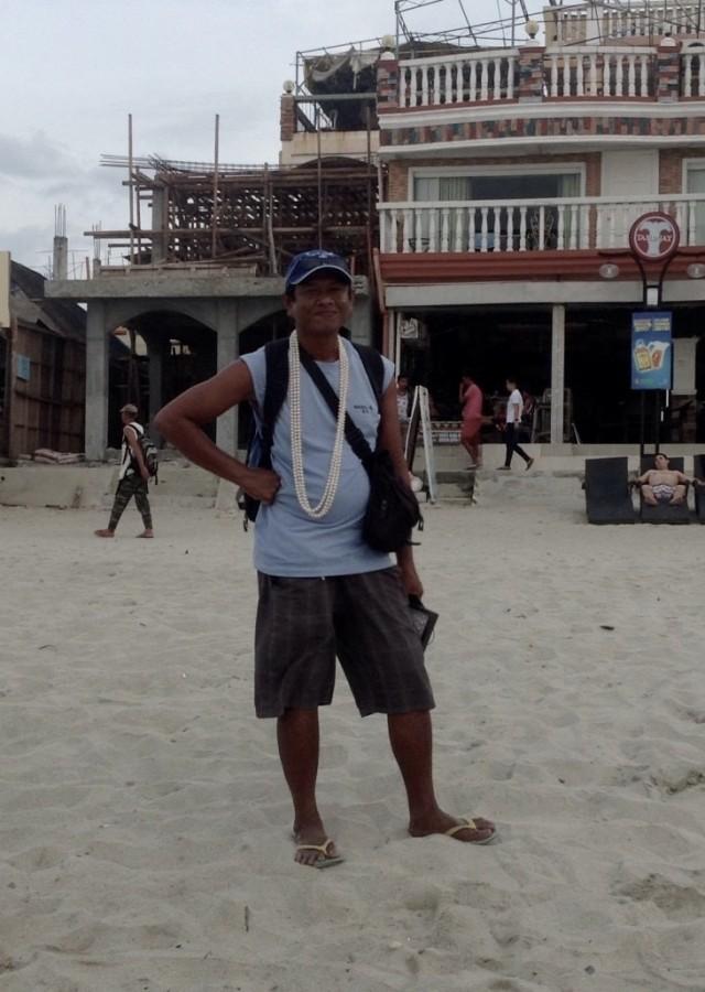 Продавец жемчуга с о. Минданао