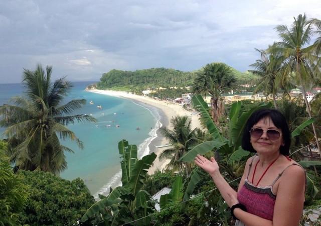 Вид на пляжи ПГ