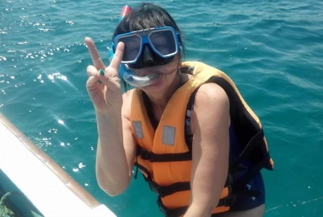 И снова в воду:)