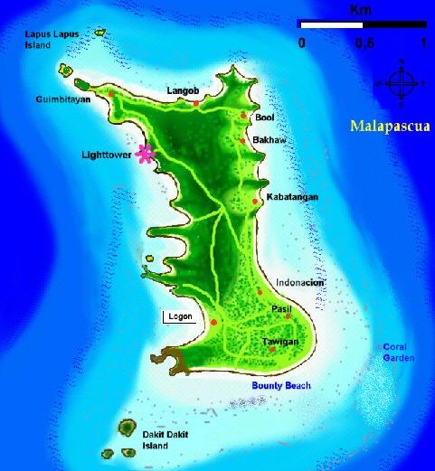 Карта Малапаскуа
