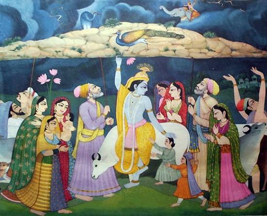 Наш всепривлекающий Шри Кришна!