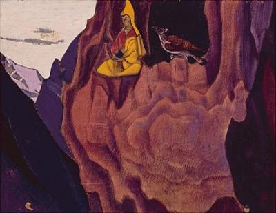 Живопись Рериха:  Весть орла. 1927. Музей Н.К.Рериха, Нью-Йорк