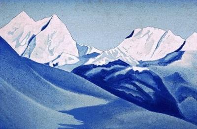 Рерих Н.К.: Гималаи. 1937. Государственный музей Востока, Москва