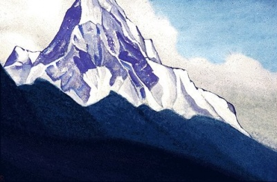 Рерих Н.К.: Гималаи. 1938.