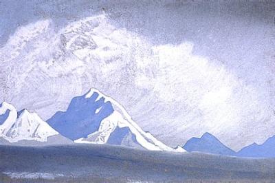 Рерих Н.К.: Гималаи. 1938. Государственный музей Востока, Москва