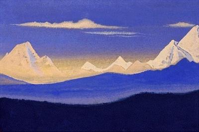Рерих Н.К.: Гималаи. 1940.
