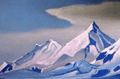 Рерих Н.К.: Гималаи. 1946. Государственный музей Востока, Москва