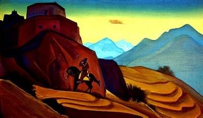 Рерих Н.К.: Гистасп. Шах Намэ. 1938. Государственный музей Востока, Москва (временно)
