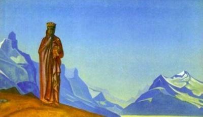 Рерих Н.К.: Держательница Мира (Камень несущая). 1933. Мемориальная квартира Ю.Н.Рериха, Москва