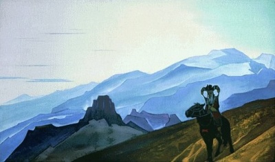 Рерих Николай: Мать Чингис-хана. 1933. Государственный музей Востока, Москва