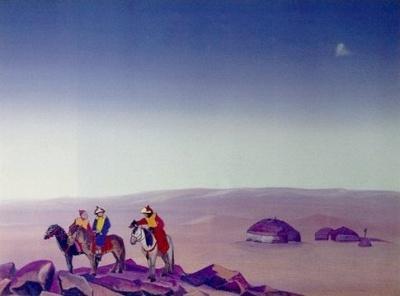 Рерих Николай: Монголия I. 1938.