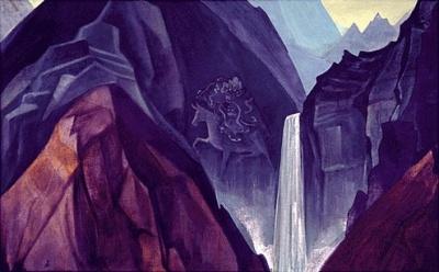 Рерих Николай: Палден Лхамо. 1932. Музей Н.К.Рериха, Нью-Йорк