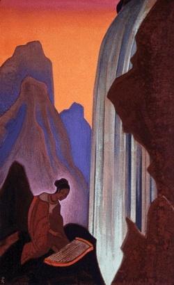 Рерих Николай: Песнь водопада. 1937. Государственный музей Востока, Москва (временно)