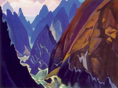 Рерих Николай: Путь. 1936. Государственный художественный музей, Рига, Латвия
