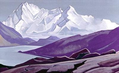 Рерих Николай: Священные Гималаи. 1934. Государственный музей Востока, Москва