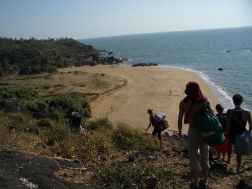 медовый пляж