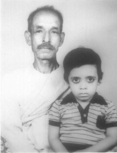 мальчик с дедушкой