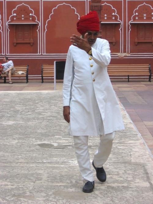 Джайпур. City palace.