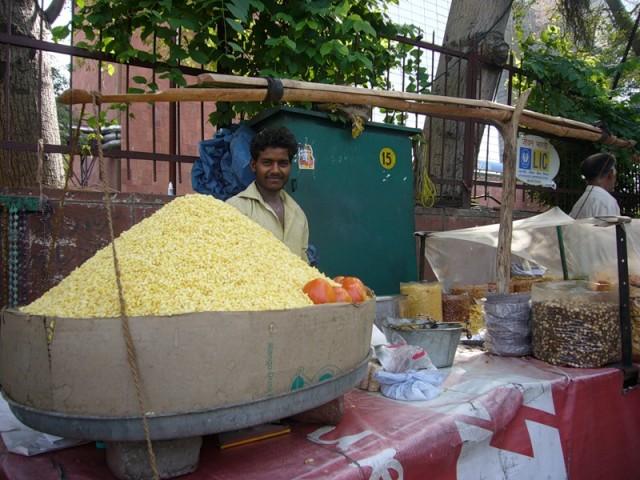 Торговец в Дели