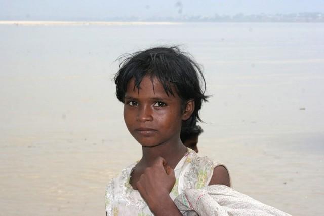 Девочка в Варанаси
