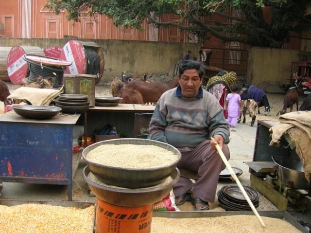 Торговец в Джайпуре