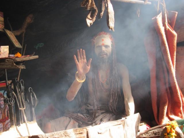 деревня Мана, гималайский йог