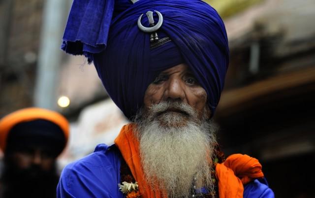 сикхский фестиваль в Дели
