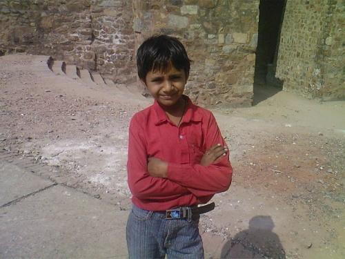 маленький житель Дели