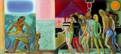 Святослав Рерих: Ближе к тебе, мать-земля. 1968. Государственный музей Востока, Москва (временно)