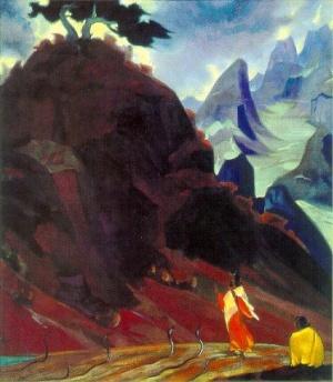 Рерих С.Н.: Заклинатель змей. 1937. Международный Центр-Музей им. Н.К.Рериха, Москва