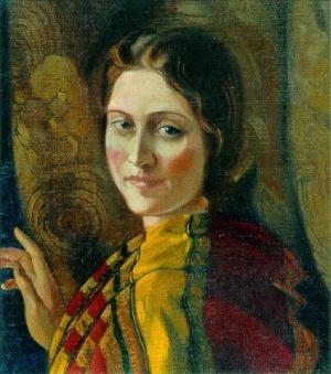 Рерих С.Н.:  И.М.Богданова. 1937. Международный Центр-Музей им. Н.К.Рериха, Москва