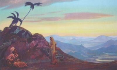 Рерих Святослав: Индия. 1939. Музей Н.К.Рериха, Нью-Йорк