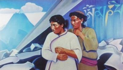 Рерих Святослав: Кочевники из Кама. 1974. Государственный музей Востока, Москва (временно)