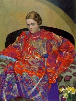 Рерих С.: Кэтрин Кэмпбелл. 1926-1927. Музей Н.К.Рериха, Нью-Йорк