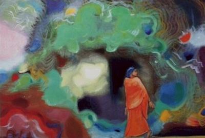 Рерих Святослав: Мой дом. 1971. Государственный музей Востока, Москва (временно)