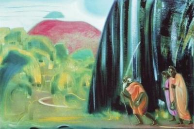 Святослав Рерих: Мы тоже ищем. 1974. Государственный музей Востока, Москва (временно)