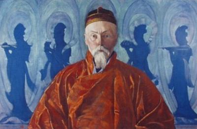 Святослав Рерих: Н.К.Рерих. 1928. Государственный музей Востока, Москва (временно)