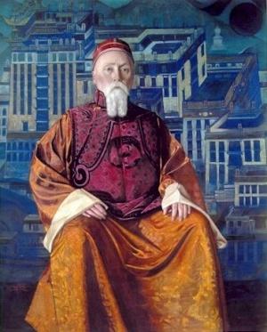 Святослав Рерих: Н.К.Рерих. 1933.  Музей Н.К.Рериха, Нью-Йорк