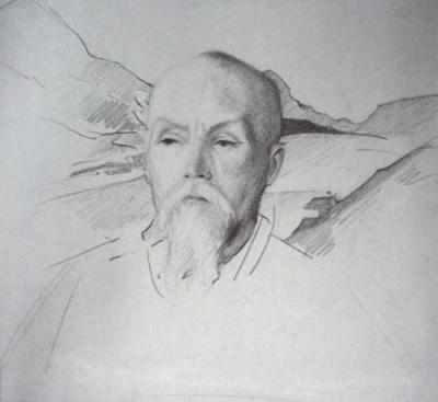 Картина Святослава Рериха:  Н.К.Рерих. Государственный музей Востока, Москва (временно)