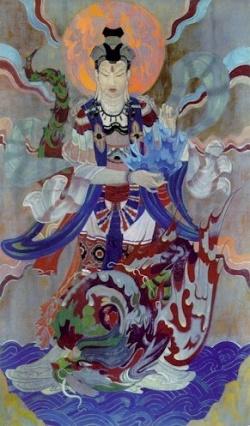 Рерих С.Н.: Огненный дракон. Частное собрание, США