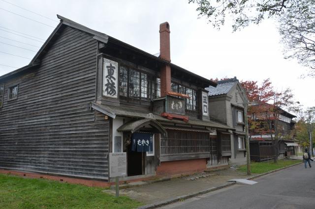 классическая японская гостинница (музей)